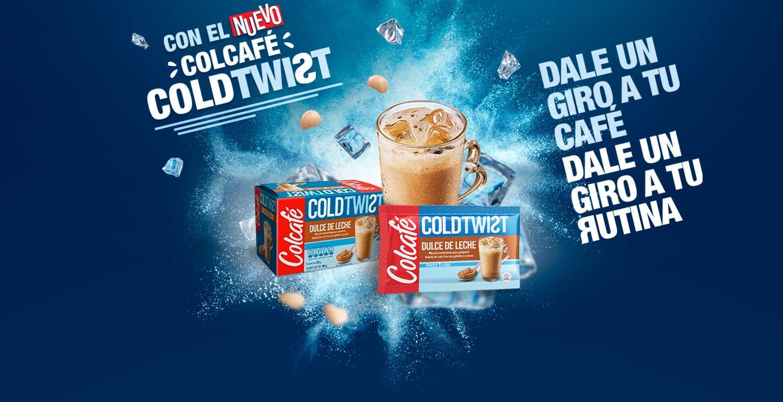 Con el nuevo Colcafé Cold Twist
